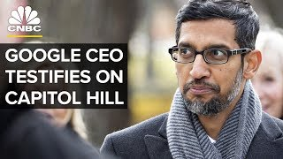 Google CEO Sundar Pichai Testifies Before the House Judiciary Committee - Dec.11, 2018