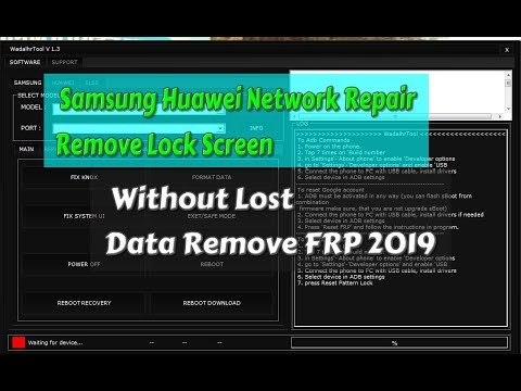 Samsung Huawei Network Repair Remove Lock Screen Without Lost Data Remove  FRP 2019