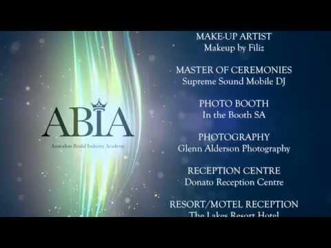 2014 South Australian Annual Bridal Industry Awards - ABIA