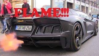 Twin Turbo Mansory Carbonado Apertos - HUGE FLAME!!!