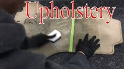 How to Clean Interior (Upholstery) With Common Household Items!!!