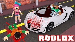 CRUSHED BY A SPEEDING CAR IN ROBLOX