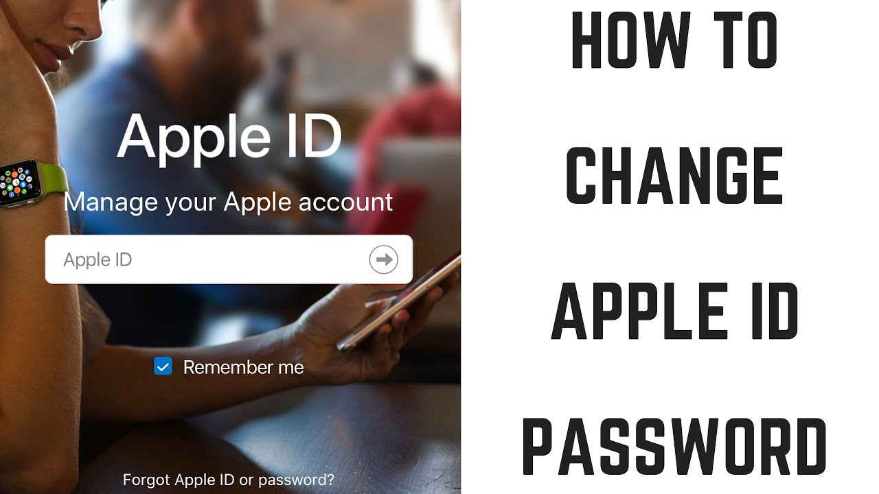 How to Change Apple ID Password