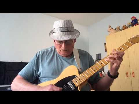 """Halfway To Paradise"" Billy Fury - guitar cover."