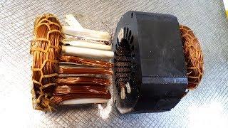 Медная лихорадка - или как вынуть обмотки с электродвигателя