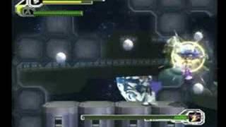 Layer Vs Mavericks - Only Knuckles - Megaman X8