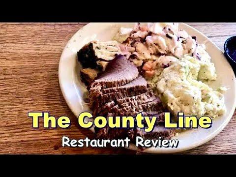 County Line Barbecue Review San Antonio Texas