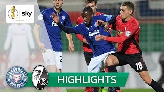 Holstein Kiel - SC Freiburg 2:1 | Highlights - DFB-Pokal 2018/19 | 2. Runde