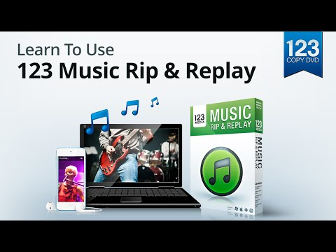 Learn to use 123 Music Rip and Replay