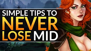 NEVER LOSE MID AGAIN  Here's How  INSANE Tips EVERY Midlaner MUST KNOW  Dota 2 Pro Guide