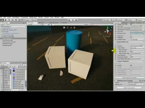 Unity 3D 2018 1 Contact Shadow - High resolution shadows for detailed  objects !
