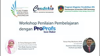 Fpmipati Upgris Selenggarakan Workshop Proprofs Quiz Maker