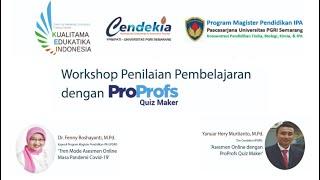 Fpmipati Upgris Selenggarakan Workshop Proprofs Quiz Maker