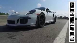 Porsche 911 GT3 RS at Lightning Lap 2016