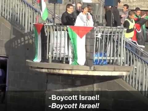 Dror Feiler konfronteras med sanningen om rasistiska demonstrationer Ship to Gaza deltagit på