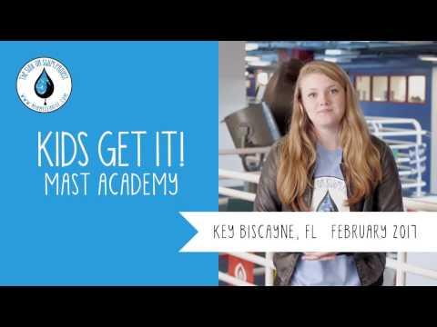 Kids Get It! - MAST Academy  Key Biscayne, FL - February 2017