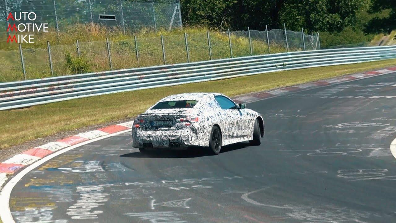 2021 BMW M4 G82 SPIED TESTING ON THE NÜRBURGRING + DRIFTS