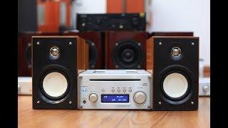 Đẳng cấp mini ^^ Teac CR-H101 loa zin Teac Ls-101 | Dream High Audio