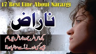 Naraz 17 Quotes in Hindi Urdu with voice and images || narazgi quotes in hindi urdu