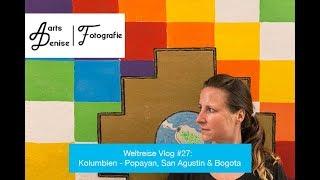 Weltreise Vlog #27: Kolumbien - Popayan, San Agustin & Bogota