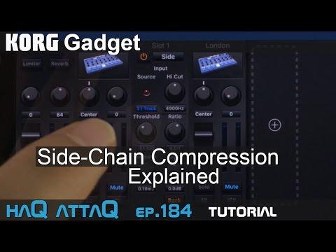 KORG Gadget │ Side-Chain Compression Tutorial - haQ attaQ 184