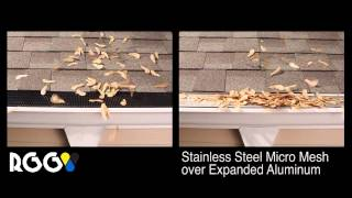 Whirley Bird Maple Seed Test of Raindrop Gutter Guard vs All Others