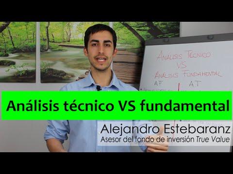 Análisis técnico o análisis fundamental