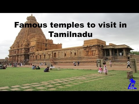 Famous Temple to visit in Tamilnadu
