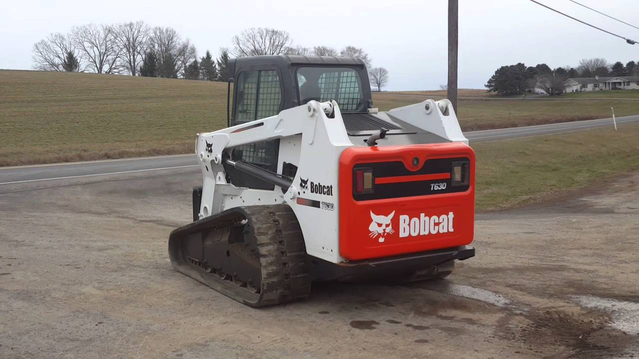 2010 Bobcat T630 Compact Track Skid Loader For Sale Running and Operating!