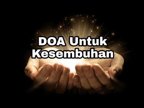Doa Untuk Kesembuhan - Renungan Harian