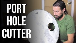 Bass Drum O's Hole Cutter Review | ABBDRUMS