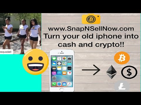 Snap & Sell Now - Sell Your Stuff For Bitcoin !