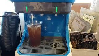 [뉴커피] 쿨프로 음료기계 복숭아 아이스티 이용가이드 …
