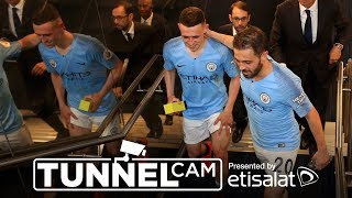 TUNNEL CAM | Man City 1-0 Spurs | 2018/19 Premier League