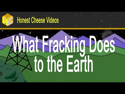 What Fracking Does to the Earth