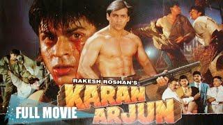 Индийский фильм Каран и Арджун / Karan Arjun (1995) — Шахрукх Кхан, Салман Кхан, Каджол