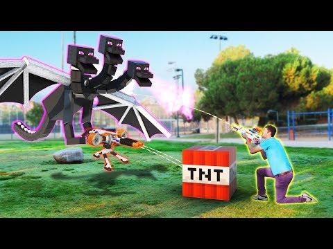 NERF meets Minecraft 2 | Full Movie Minecraft Animation!