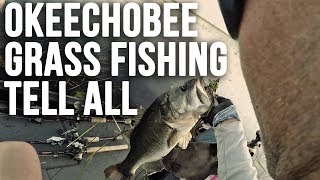 Lake Okeechobee Hayfield Bass Tips and Techniques Swamp Fishing!