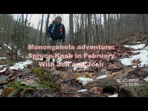 Monongahela Adventure: Spruce Knob in February.