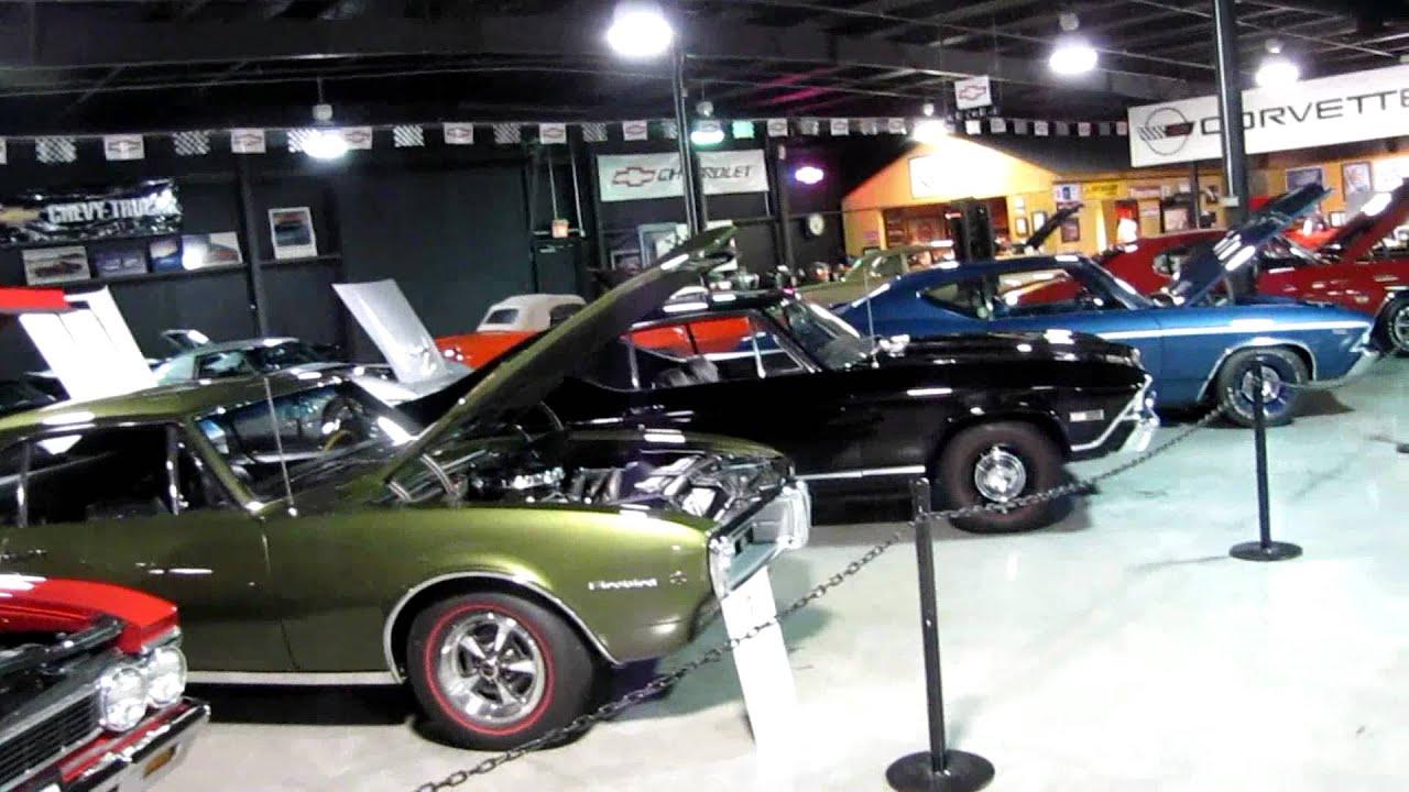 Floyd Garrett S Muscle Car Museum Youtube