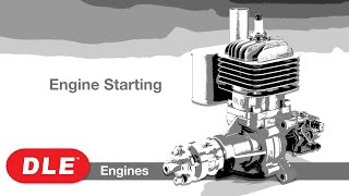 DLE Engines DLE-222cc 4-Cyl Gas Engine w/EI & Muffs Video