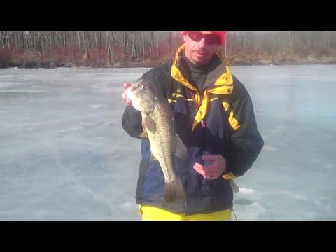 Ice Fishing Lake Lonely NY