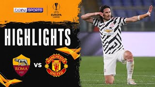 Roma 3-2 Manchester United   Europa League 20/21 Match Highlights