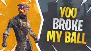 You Broke My Ball - Fortnite Molten Battle Hound Skin Gameplay