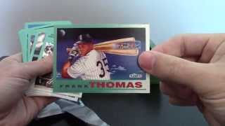 Firehouse Cards - 1992 Fleer Baseball Jumbo Box (Vintage Break 9) Frank Thomas Rookie Sensations!