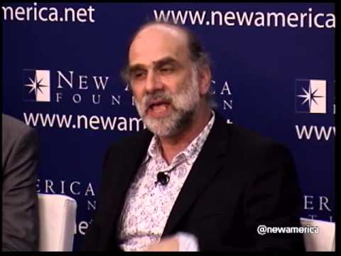 "Bruce Schneier; ""Security Guru"" How NSA Spying Undermines the Economy"