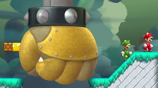 New Super Mario Bros. Series - All Airship Levels (2 Player) thumbnail