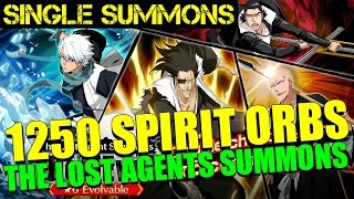 Bleach Brave Souls - 1250 Spirit Orbs The Lost Agents beLIEve Summons