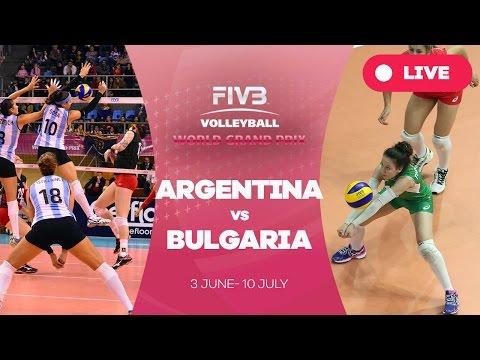 Argentina v Bulgaria - Group 2: 2016 FIVB Volleyball World Grand Prix