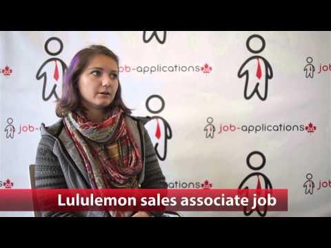 Lululemon Sales Associate Job
